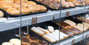 Doughnut Display Case