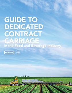 Guide to Dedicated Contract Carriage Cover Page