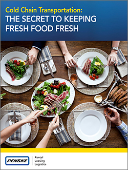 Cold Chain Transportation: The Secret to Keeping Fresh Food Fresh Cover Page